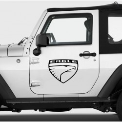 Sticker Jeep Eagle